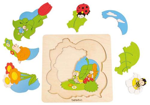 Malý objevitel - puzzle Louka