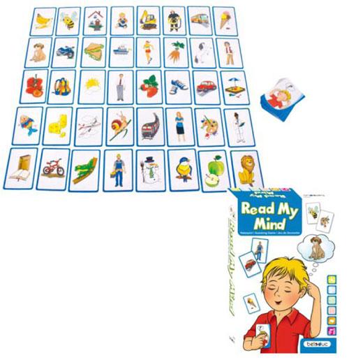 Edukační hra - Čti mé myšlenky