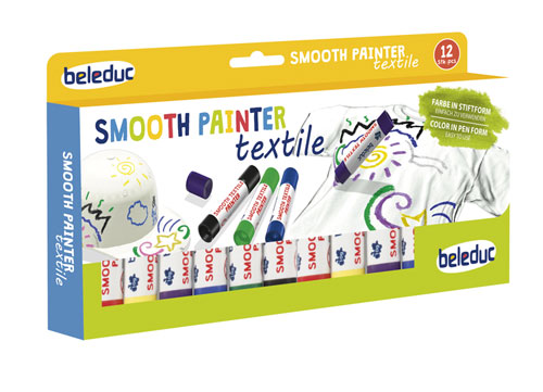 Set 12ks voskovek Smooth Painter Textile