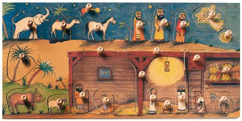 Razítka Betlém 2 desky