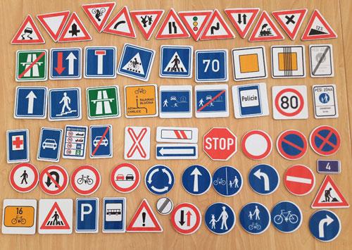 Dopravní značky CZ