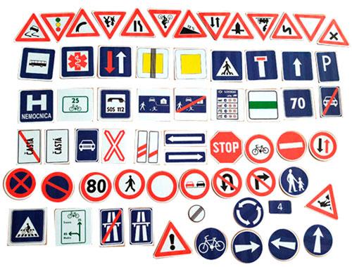 Dopravní značky SK