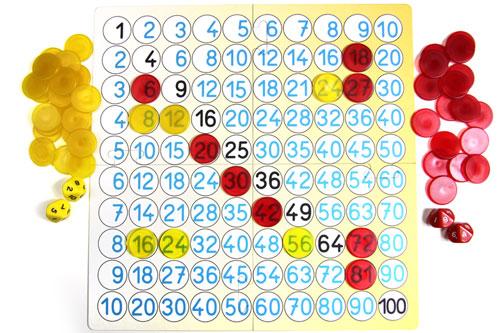 Matematická hra - malá násobilka