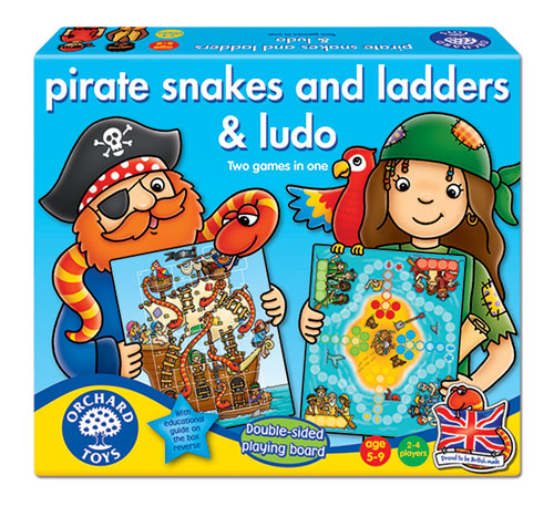 Pirátské žebříky a hadi & Piráte, nezlob se!