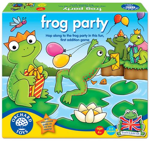 Edukační hra - Žabí párty